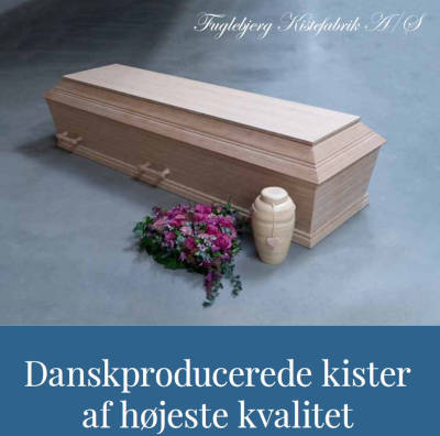 Fuglebjerg Kistefabrik er 100% dansk håndværk
